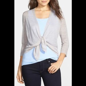 NIC+ZOE Four-Way Convertible 3/4 Sleeve Cardigan M